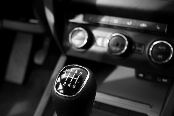 Picture of cars stick Shift