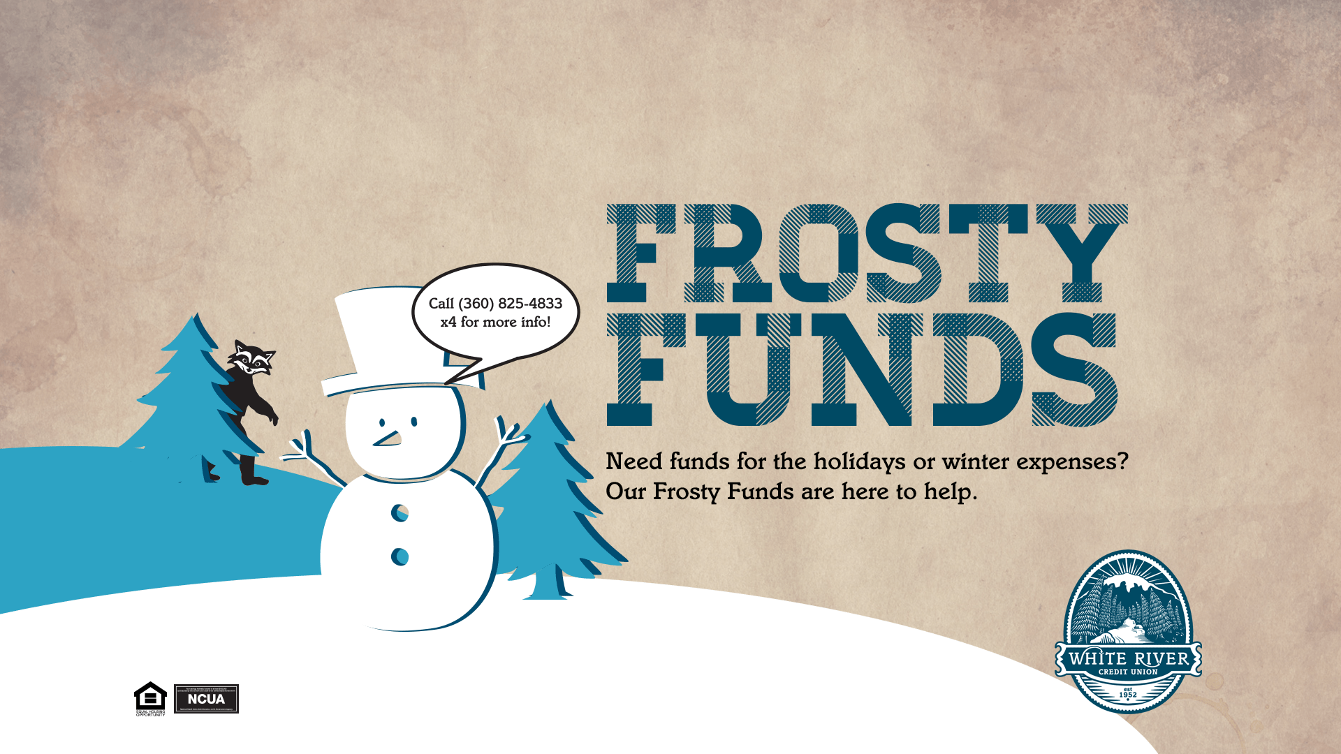 Frosty Funds banner