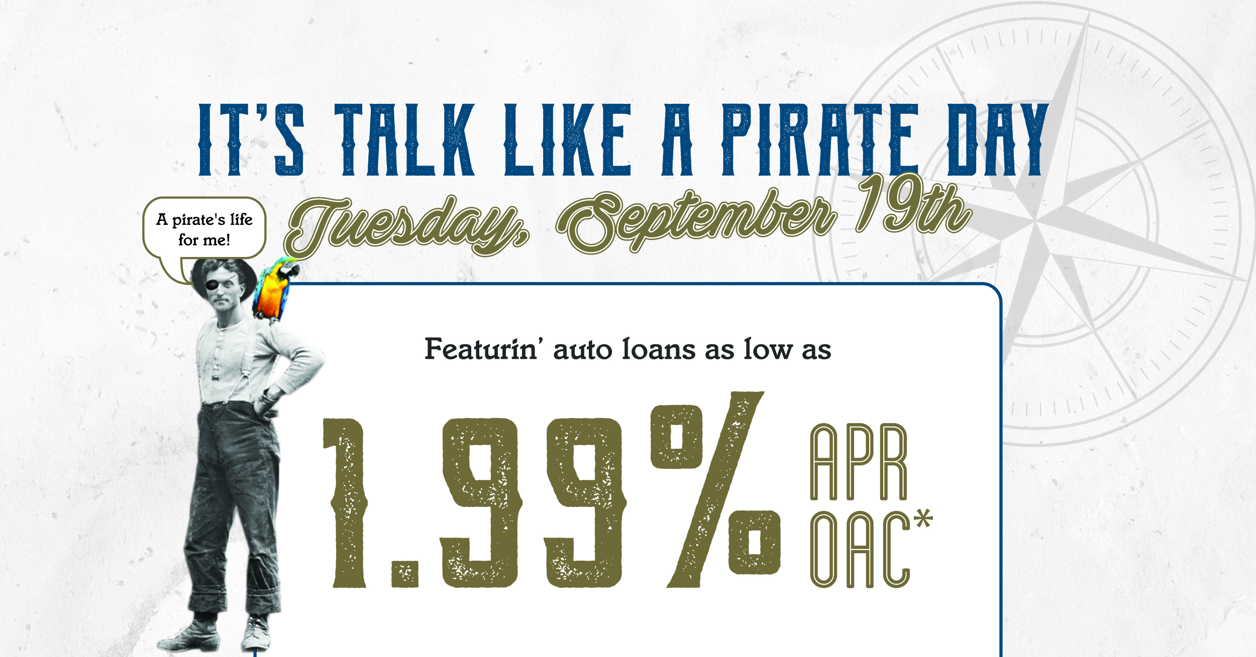 Pirate Day bounty awaits!