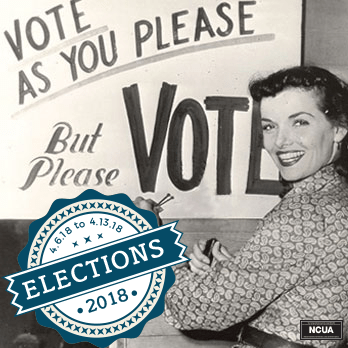vote as you please but please vote elections 2018 Annual Vote Week