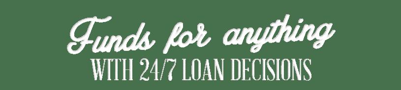 24/7 Loan Decisions