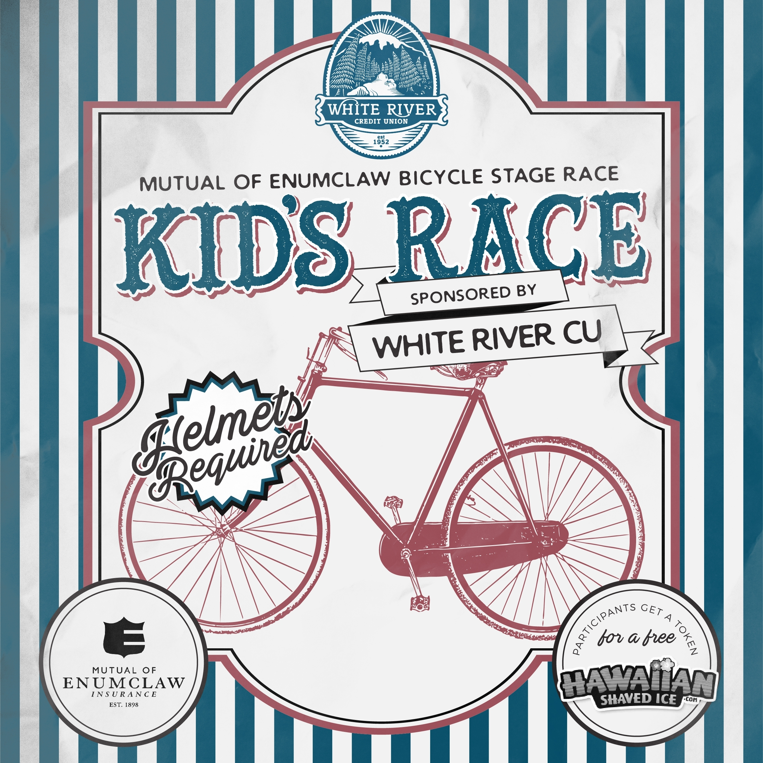 Mutual of Enumclaw Bicycle Stage Race: Kid's Race sponsored by WRCU