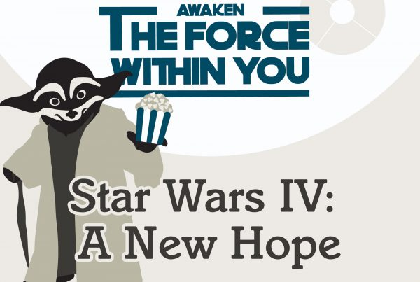 Picture of cartoon Jedi Rocky and free movie info