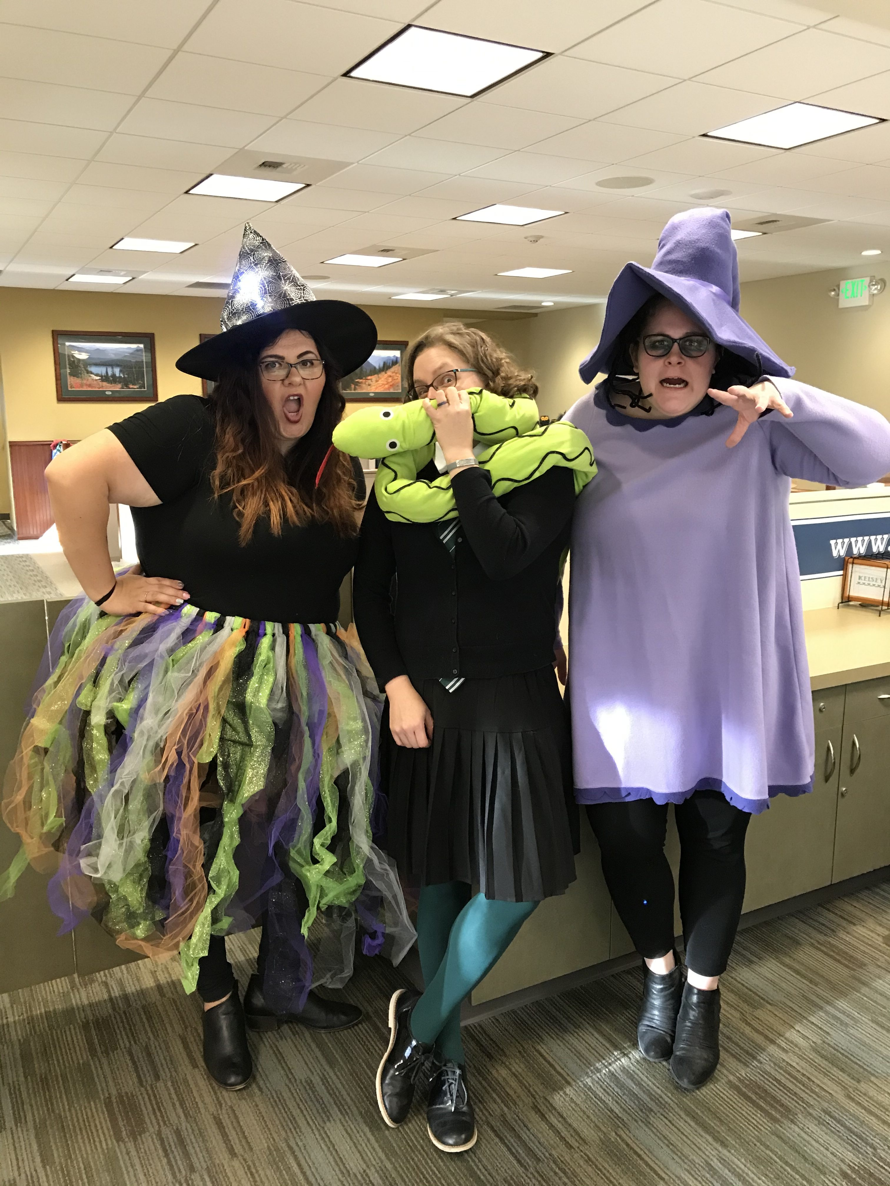 White River Credit Union employees dressed up for Halloween